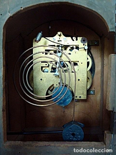 Relojes de pie: Original Reloj Ingles de pie, S. XIX, con chinosseries, sonería, en marcha - Foto 6 - 111714347