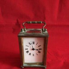 Relojes de pie: RELOJ DE SOBREMESA ANTIGUO. Lote 112214474