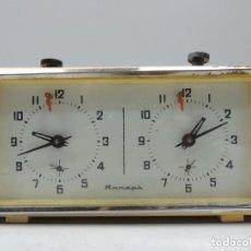 Relógios de pé: RELOJ DE AJEDREZ RUSO MUY ANTIGUO, SE RECOMIENDA REVISIÓN YANTAR ERA COMUNISTA AÑOS 40. Lote 245373680