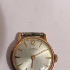 Relojes de pie: RELOJ EXACTUS DE CARGA MANUAL 15 RUBIS, SIN CORREA (NO FUNCIONA). Lote 113171359