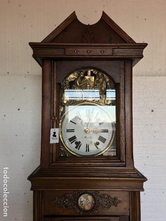 Relojes de pie: RELOJ DE PIE MOREZ - Foto 3 - 113187387