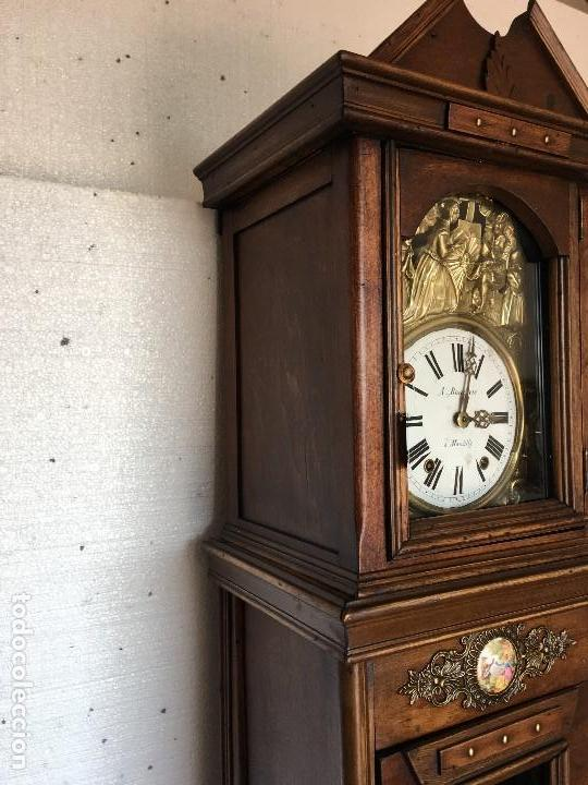 Relojes de pie: RELOJ DE PIE MOREZ - Foto 4 - 113187387