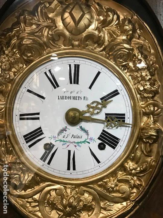 Standuhren: Antiguo reloj de pie. Maquinar morez. Siglo XIX - Foto 3 - 113379515