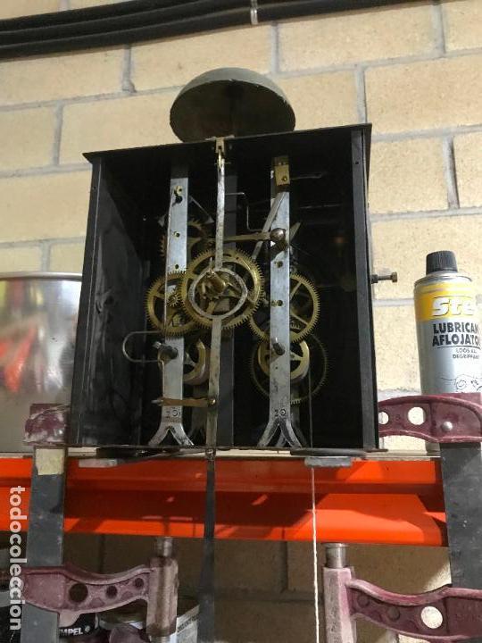 Standuhren: Antiguo reloj de pie. Maquinar morez. Siglo XIX - Foto 11 - 113379515