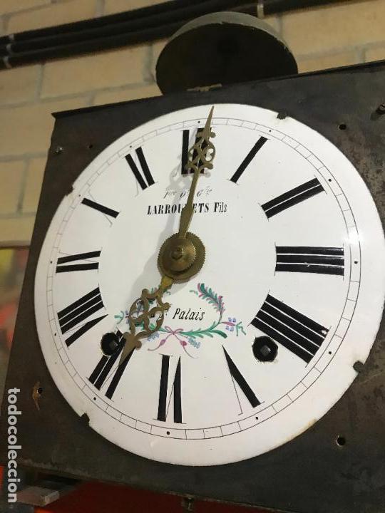Standuhren: Antiguo reloj de pie. Maquinar morez. Siglo XIX - Foto 12 - 113379515