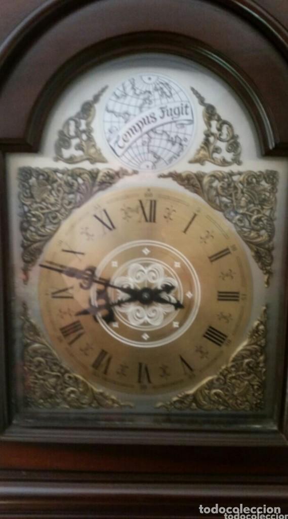 Relojes de pie: ANTIGUO RELOJ TEMPUS FUGIT - Foto 5 - 115260375