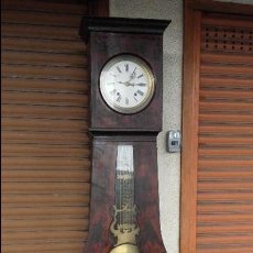 Relojes de pie: RELOJ MOREZ PRIMERA MITAD DEL SIGLO XIX, MECANISMO QUENTIEME. Lote 116117115