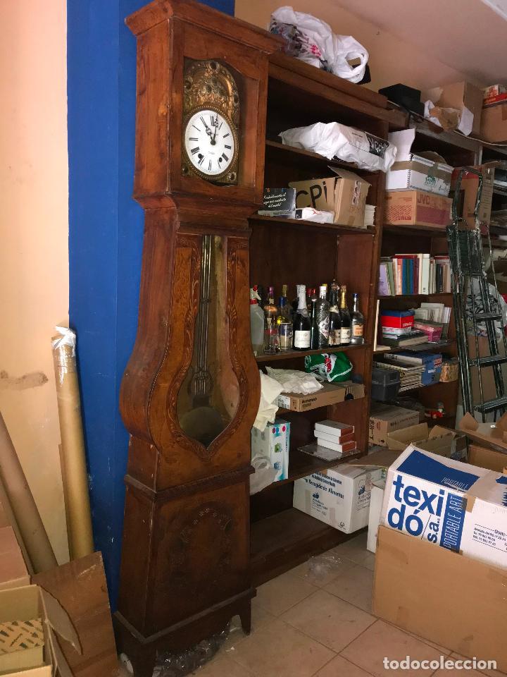 Relojes de pie: ANTIGUO Y ORIGINAL GRAN RELOJ MOREZ 4 CAMPANAS CON CAJA, FUNCIONANDO, BUEN ESTADO - Foto 3 - 118621591
