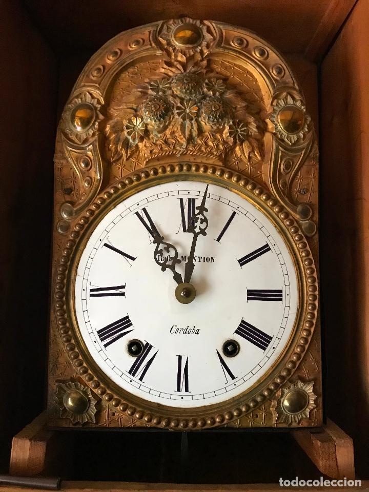 Relojes de pie: ANTIGUO Y ORIGINAL GRAN RELOJ MOREZ 4 CAMPANAS CON CAJA, FUNCIONANDO, BUEN ESTADO - Foto 14 - 118621591
