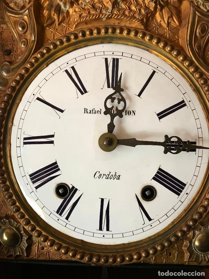 Relojes de pie: ANTIGUO Y ORIGINAL GRAN RELOJ MOREZ 4 CAMPANAS CON CAJA, FUNCIONANDO, BUEN ESTADO - Foto 15 - 118621591