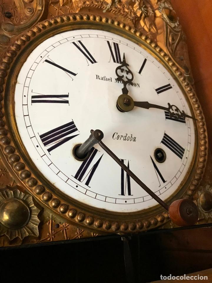 Relojes de pie: ANTIGUO Y ORIGINAL GRAN RELOJ MOREZ 4 CAMPANAS CON CAJA, FUNCIONANDO, BUEN ESTADO - Foto 16 - 118621591