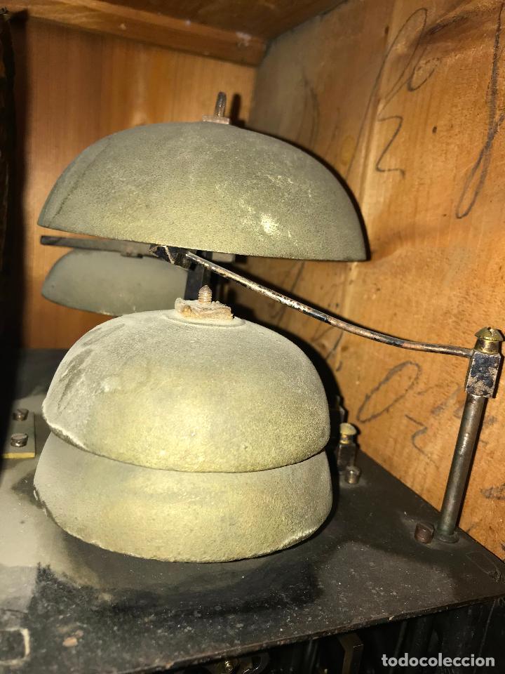 Relojes de pie: ANTIGUO Y ORIGINAL GRAN RELOJ MOREZ 4 CAMPANAS CON CAJA, FUNCIONANDO, BUEN ESTADO - Foto 22 - 118621591