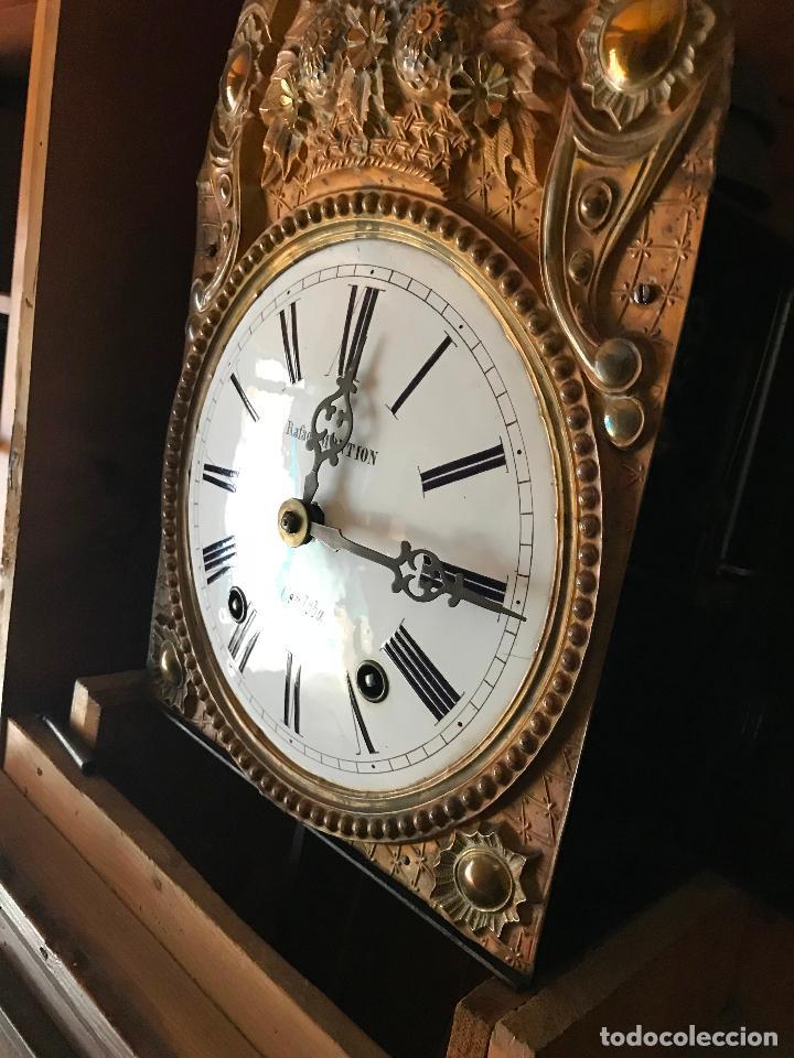 Relojes de pie: ANTIGUO Y ORIGINAL GRAN RELOJ MOREZ 4 CAMPANAS CON CAJA, FUNCIONANDO, BUEN ESTADO - Foto 24 - 118621591