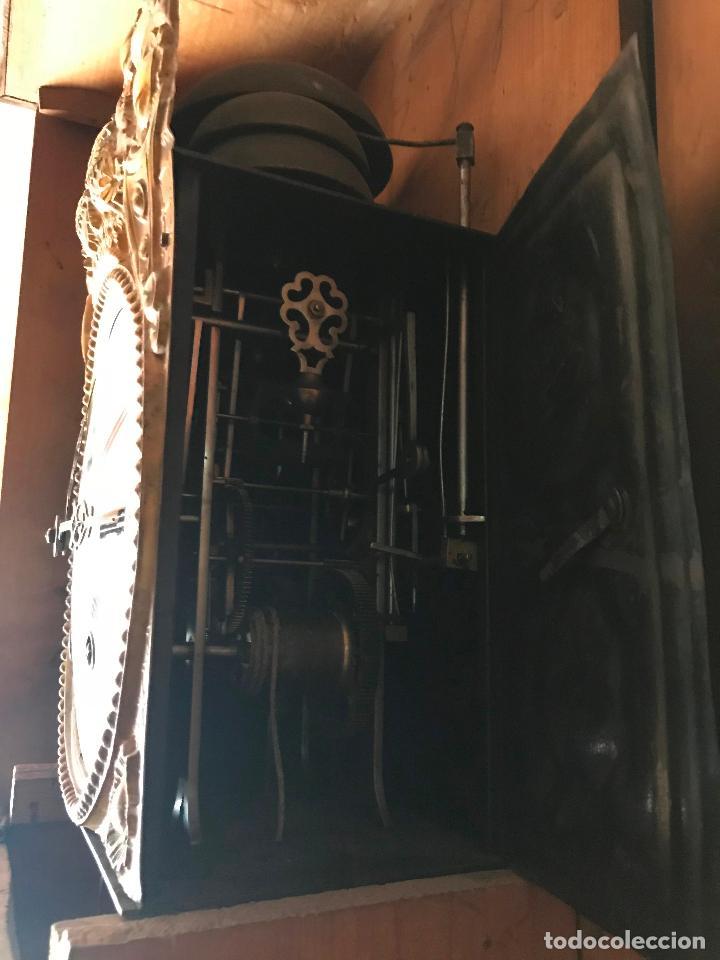 Relojes de pie: ANTIGUO Y ORIGINAL GRAN RELOJ MOREZ 4 CAMPANAS CON CAJA, FUNCIONANDO, BUEN ESTADO - Foto 25 - 118621591