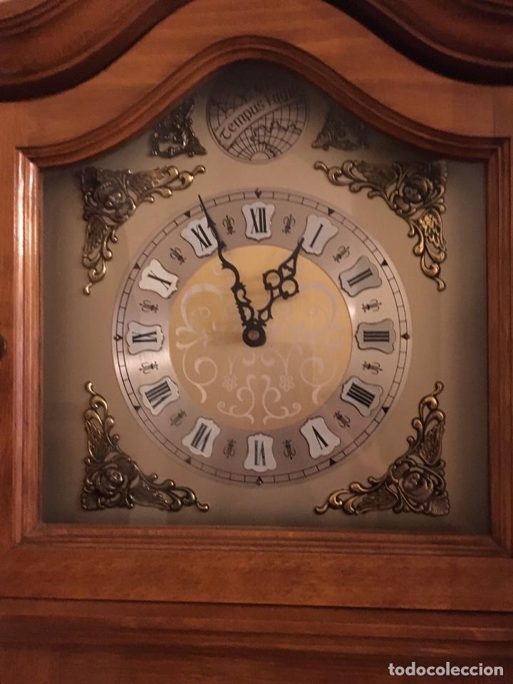 Relojes de pie: Reloj de pie de madera - Foto 2 - 120265379