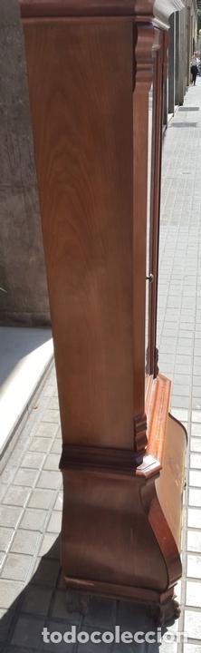 Relojes de pie: RELOJ DE PIE. MUEBLE EN MADERA DE RAÍZ. ESTILO INGLES. CIRCA 1950. - Foto 10 - 160352801