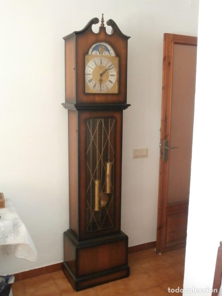 Carillon Campanadas De Melodía Fase Lunar Con Alemán Y Pie Catedral Antiguo Reloj Funciona Tipo Ok80wPXn
