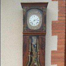 Relojes de pie: RELOJ MOREZ POLICROMADO, COMPLETO. Lote 126462323
