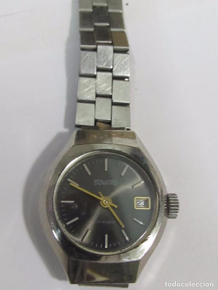 RELOJ DUWARD DE CARGA MANUAL, 17 RUBIS (Relojes - Pie Carga Manual)