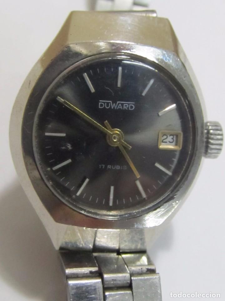 Relojes de pie: RELOJ DUWARD DE CARGA MANUAL, 17 RUBIS - Foto 2 - 126487747