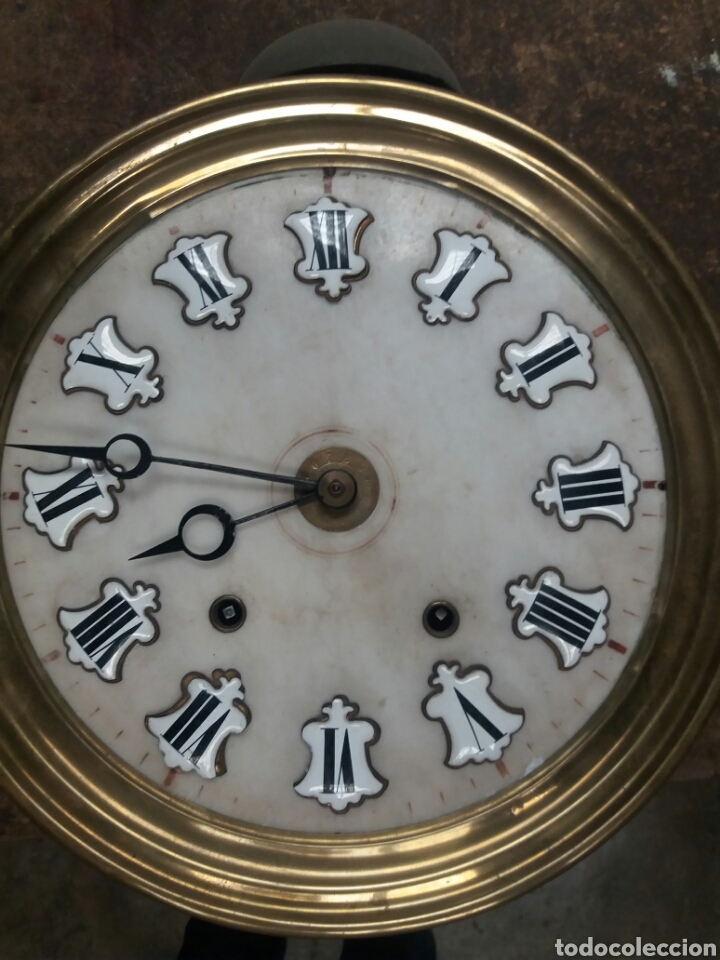 Relojes de pie: Reloj Morez de 4 campanas - Foto 7 - 127858168