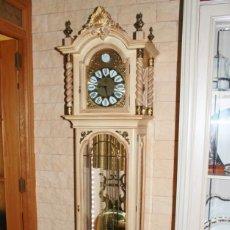 Relojes de pie: CARRILLÓN JUJO NUEVO - MADERA DE HAYA Y DECAPÉ ORO - CREACIONES MELIÁ - PIEZA EXCLUSIVA GRAN CALIDAD. Lote 129563571