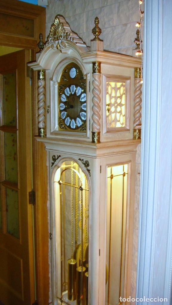 Relojes de pie: CARRILLÓN JUJO NUEVO - MADERA DE HAYA Y DECAPÉ ORO - CREACIONES MELIÁ - PIEZA EXCLUSIVA GRAN CALIDAD - Foto 6 - 129563571