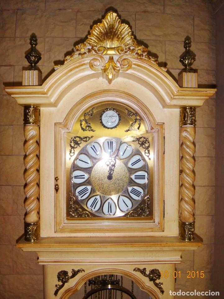 Relojes de pie: CARRILLÓN JUJO NUEVO - MADERA DE HAYA Y DECAPÉ ORO - CREACIONES MELIÁ - PIEZA EXCLUSIVA GRAN CALIDAD - Foto 7 - 129563571