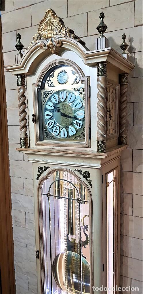 Relojes de pie: CARRILLÓN JUJO NUEVO - MADERA DE HAYA Y DECAPÉ ORO - CREACIONES MELIÁ - PIEZA EXCLUSIVA GRAN CALIDAD - Foto 8 - 129563571