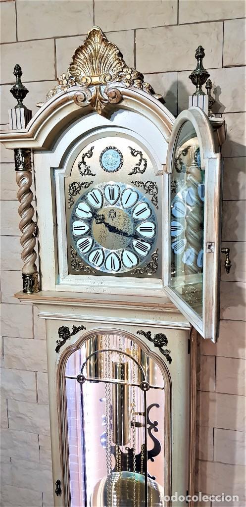 Relojes de pie: CARRILLÓN JUJO NUEVO - MADERA DE HAYA Y DECAPÉ ORO - CREACIONES MELIÁ - PIEZA EXCLUSIVA GRAN CALIDAD - Foto 9 - 129563571