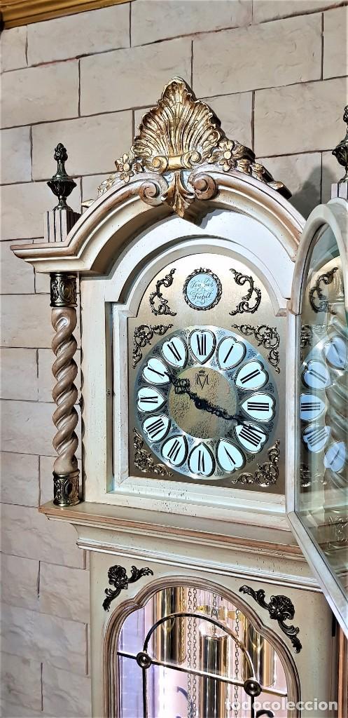 Relojes de pie: CARRILLÓN JUJO NUEVO - MADERA DE HAYA Y DECAPÉ ORO - CREACIONES MELIÁ - PIEZA EXCLUSIVA GRAN CALIDAD - Foto 10 - 129563571