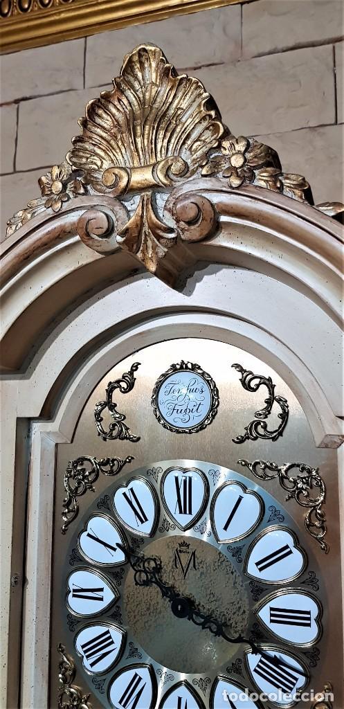Relojes de pie: CARRILLÓN JUJO NUEVO - MADERA DE HAYA Y DECAPÉ ORO - CREACIONES MELIÁ - PIEZA EXCLUSIVA GRAN CALIDAD - Foto 11 - 129563571