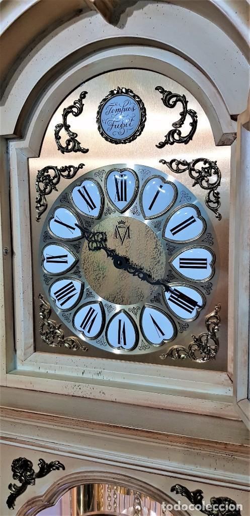 Relojes de pie: CARRILLÓN JUJO NUEVO - MADERA DE HAYA Y DECAPÉ ORO - CREACIONES MELIÁ - PIEZA EXCLUSIVA GRAN CALIDAD - Foto 14 - 129563571