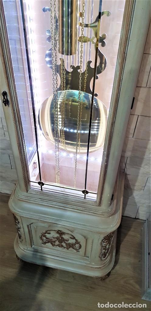 Relojes de pie: CARRILLÓN JUJO NUEVO - MADERA DE HAYA Y DECAPÉ ORO - CREACIONES MELIÁ - PIEZA EXCLUSIVA GRAN CALIDAD - Foto 16 - 129563571