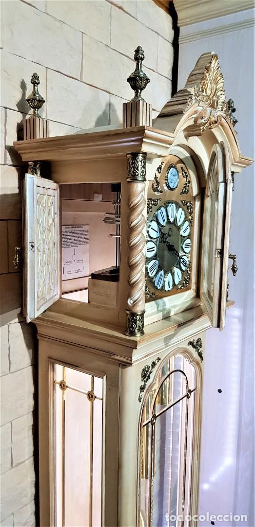 Relojes de pie: CARRILLÓN JUJO NUEVO - MADERA DE HAYA Y DECAPÉ ORO - CREACIONES MELIÁ - PIEZA EXCLUSIVA GRAN CALIDAD - Foto 20 - 129563571
