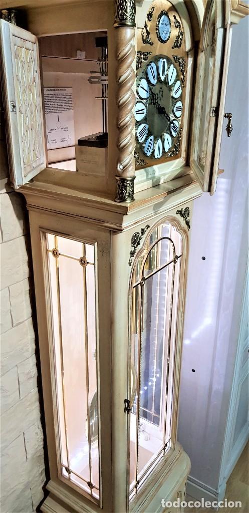 Relojes de pie: CARRILLÓN JUJO NUEVO - MADERA DE HAYA Y DECAPÉ ORO - CREACIONES MELIÁ - PIEZA EXCLUSIVA GRAN CALIDAD - Foto 21 - 129563571