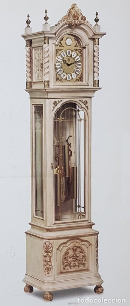 Relojes de pie: CARRILLÓN JUJO NUEVO - MADERA DE HAYA Y DECAPÉ ORO - CREACIONES MELIÁ - PIEZA EXCLUSIVA GRAN CALIDAD - Foto 23 - 129563571
