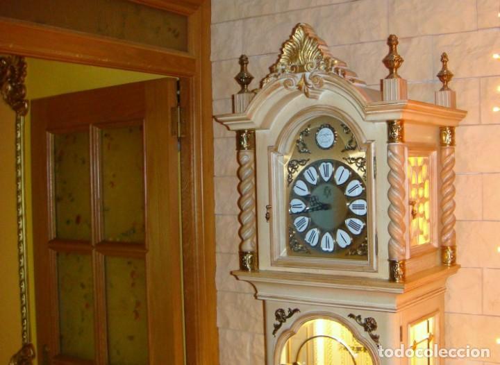Relojes de pie: CARRILLÓN JUJO NUEVO - MADERA DE HAYA Y DECAPÉ ORO - CREACIONES MELIÁ - PIEZA EXCLUSIVA GRAN CALIDAD - Foto 29 - 129563571