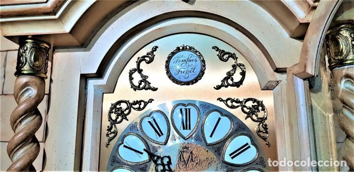 Relojes de pie: CARRILLÓN JUJO NUEVO - MADERA DE HAYA Y DECAPÉ ORO - CREACIONES MELIÁ - PIEZA EXCLUSIVA GRAN CALIDAD - Foto 30 - 129563571