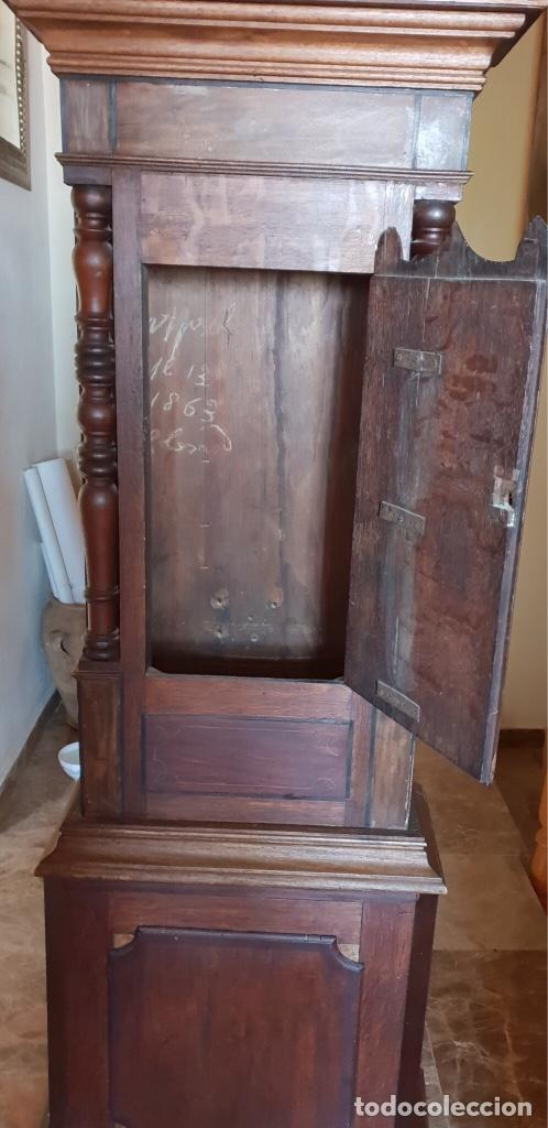 Relojes de pie: Caja de reloj Grandfather, del 1800 aproximadamente. - Foto 2 - 130178319