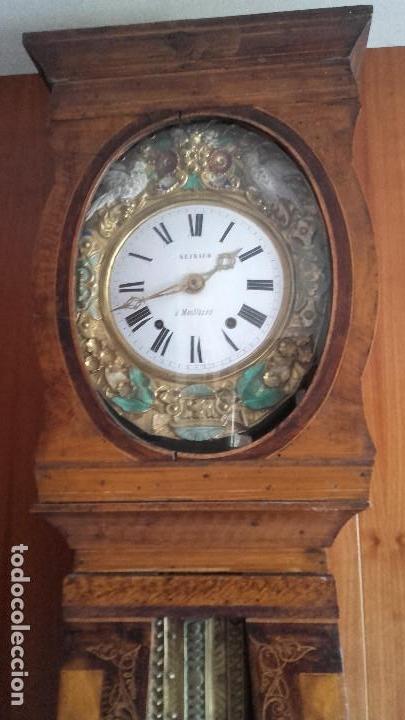 Relojes de pie: Reloj Morez de época muy bien conservado - Foto 2 - 134238842