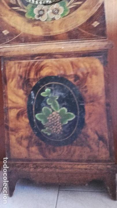 Relojes de pie: Reloj Morez de época muy bien conservado - Foto 4 - 134238842