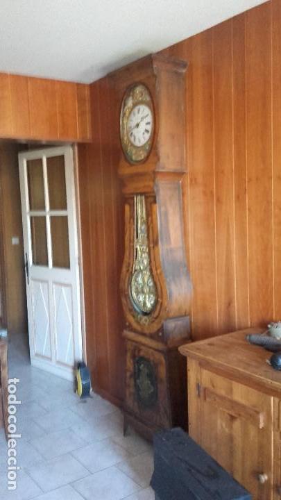 Relojes de pie: Reloj Morez de época muy bien conservado - Foto 5 - 134238842