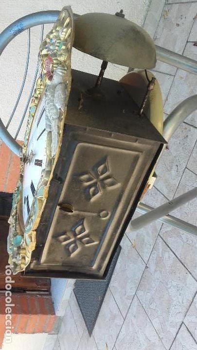 Relojes de pie: Reloj Morez de época muy bien conservado - Foto 8 - 134238842