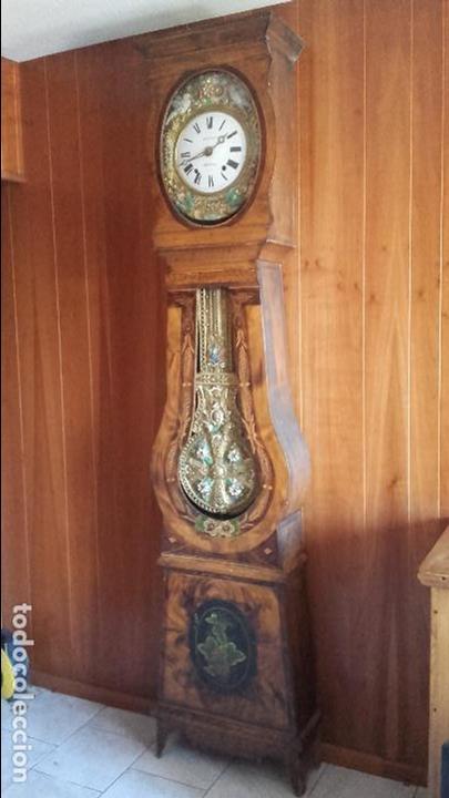 RELOJ MOREZ DE ÉPOCA MUY BIEN CONSERVADO (Relojes - Pie Carga Manual)