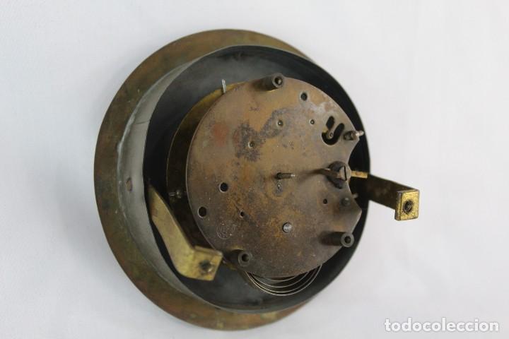 Relojes de pie: Bellísimo reloj en porcelana de pps s XX Art Nouveau - Foto 11 - 135394810
