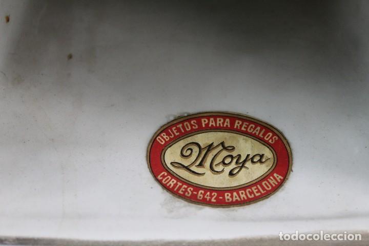 Relojes de pie: Bellísimo reloj en porcelana de pps s XX Art Nouveau - Foto 15 - 135394810