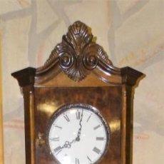 Relojes de pie: RELOJ DE PIE MADERA RAIZ NOGAL. MAQUINARIA DE CARRILLON.. Lote 137115822