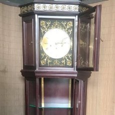 Relojes de pie: RELOJ ESQUINERO DE PIE DE CUERDA . Lote 138676850
