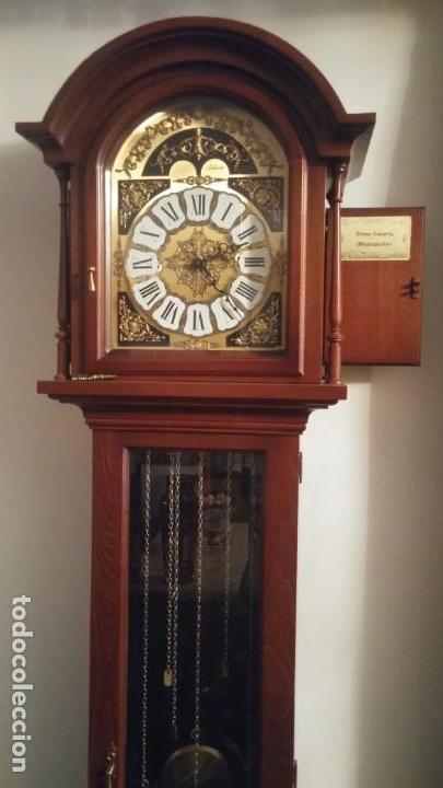 Relojes de pie: Reloj de pie carrillón fresno Soneria Westminster - Foto 4 - 141883982